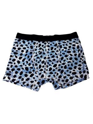 Трусы Oztas underwear. Цвет: серо-голубой, серый