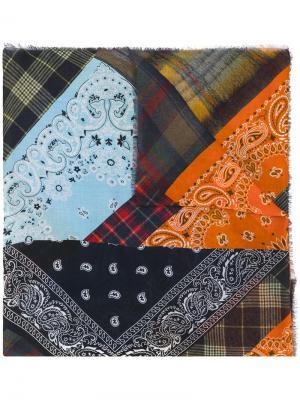 Patchwork scarf Pierre-Louis Mascia. Цвет: многоцветный