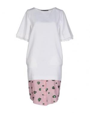 Платье до колена 28.5. Цвет: белый