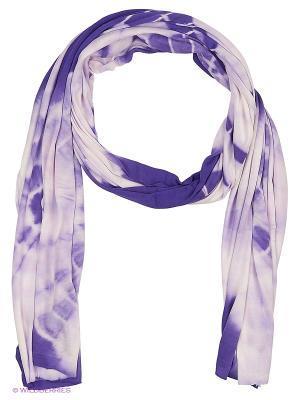 Шарф JL. Цвет: фиолетовый