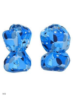 Пинетки Kerry. Цвет: синий, голубой