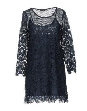 Короткое платье PAULIE. Цвет: синий