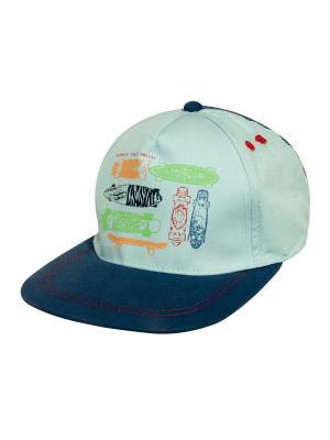 Бейсболки YO!. Цвет: голубой