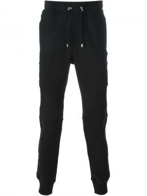 Спортивные брюки Balmain. Цвет: чёрный