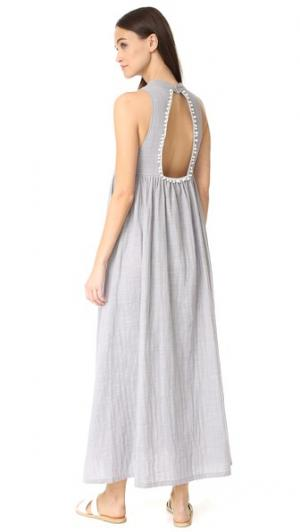 Платье Marbella Nightwalker. Цвет: синевато-серый лен