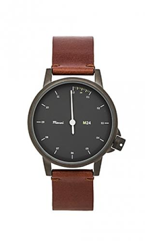 Часы m24 noir Miansai. Цвет: коричневый