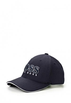Бейсболка Boss Hugo. Цвет: синий