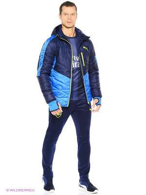 Куртка Active Norway Jacket Puma. Цвет: голубой, желтый, синий