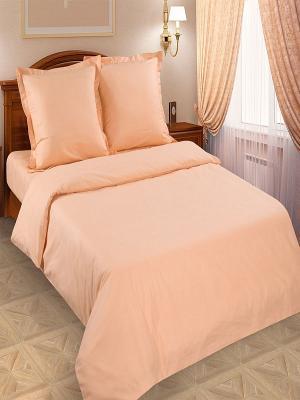 Постельное белье Арт Постель. Цвет: персиковый