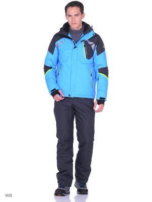 Куртка High Experience. Цвет: голубой