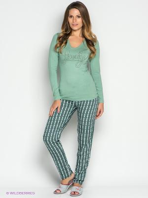 Пижама CATHERINE'S. Цвет: зеленый