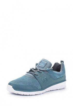 Кроссовки DC Shoes. Цвет: голубой