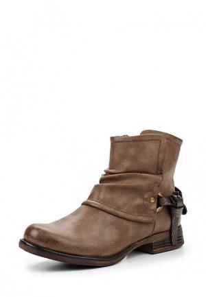 Ботинки Diva dOr d'Or. Цвет: коричневый