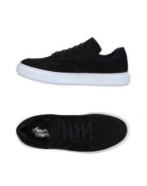 Низкие кеды и кроссовки ALEJANDRO INGELMO. Цвет: черный