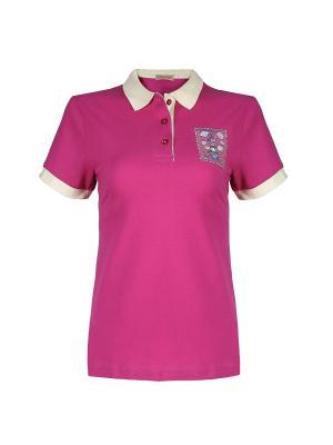 Футболка-поло Dolce Vita. Цвет: розовый