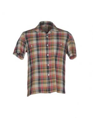 Pубашка SALVATORE PICCOLO. Цвет: песочный