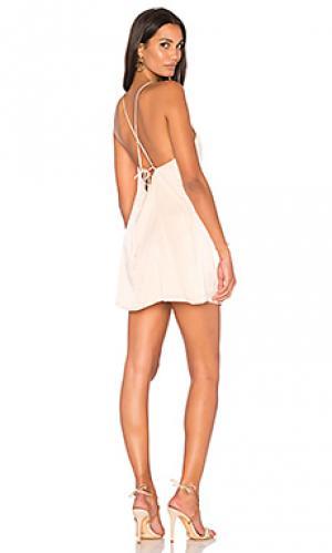 Платье zimi SIR the label. Цвет: розовый