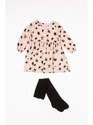 Комплект одежды MINOTI. Цвет: розовый, черный