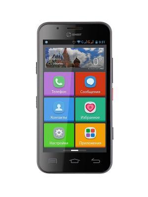 Смартфон Senseit L301. Цвет: черный