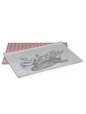 Кухонное полотенце в упаковке 50x70*2 BREAD HOBBY HOME COLLECTION. Цвет: сиреневый
