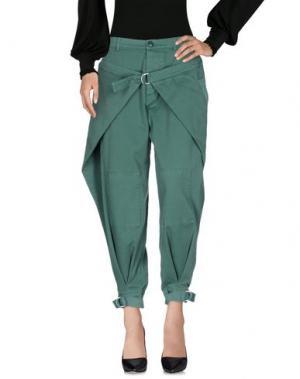 Повседневные брюки BAND OF OUTSIDERS. Цвет: зеленый