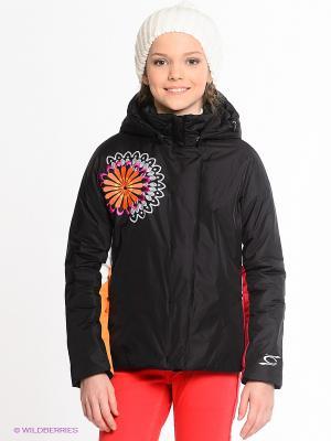 Куртка CACAO. Цвет: черный