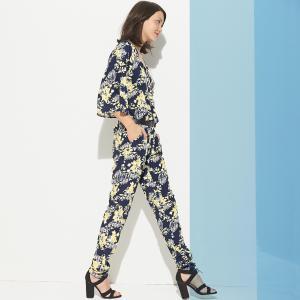 Комбинезон с брюками цветочным рисунком R édition. Цвет: набивной рисунок
