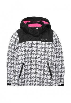 Куртка горнолыжная Icepeak. Цвет: черно-белый