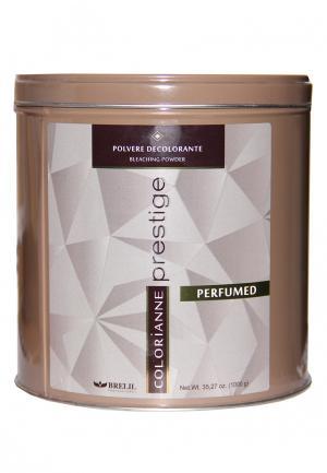 Пудра парфюмированная осветляющая Brelil Professional. Цвет: коричневый