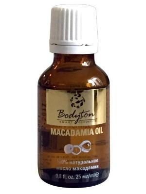 Макадамии масло, нерафинированное Bodyton. Цвет: желтый