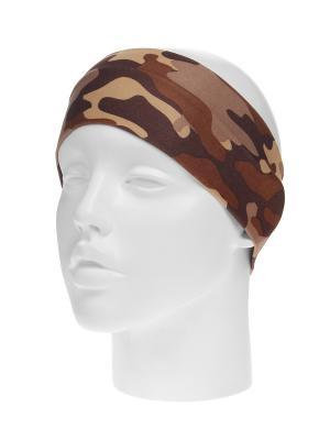 Повязка на голову Infiniti. Цвет: коричневый