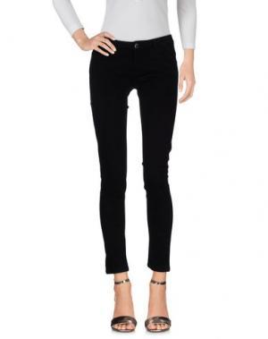 Джинсовые брюки NIOI. Цвет: черный