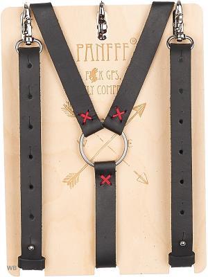 Подтяжки-портупея PANFFF. Цвет: черный
