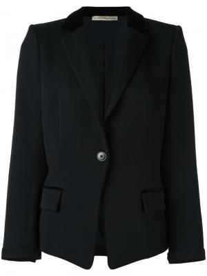 Классический пиджак Balenciaga Vintage. Цвет: чёрный