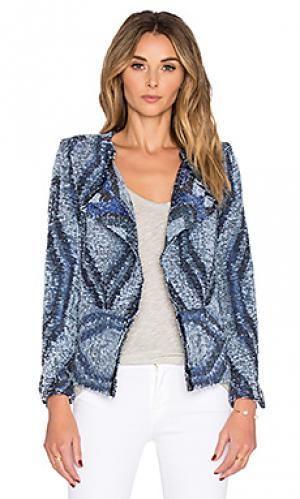 Куртка lee IRO. Цвет: синий