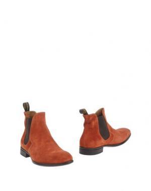 Полусапоги и высокие ботинки DOUCAL'S. Цвет: ржаво-коричневый