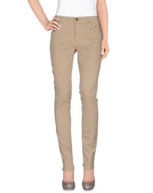 Повседневные брюки SIVIGLIA. Цвет: хаки