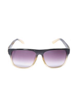 Солнцезащитные очки Mitya Veselkov. Цвет: черный, желтый