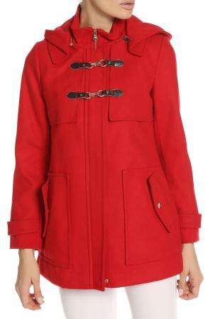 Пальто Jessica Simpson. Цвет: red