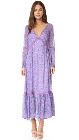 Макси-платье Babushka Mary-Kate SPELL. Цвет: лаванда