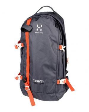 Рюкзаки и сумки на пояс HAGLÖFS. Цвет: свинцово-серый