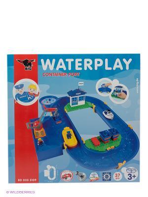 Водный трек Port Big Waterplay. Цвет: синий