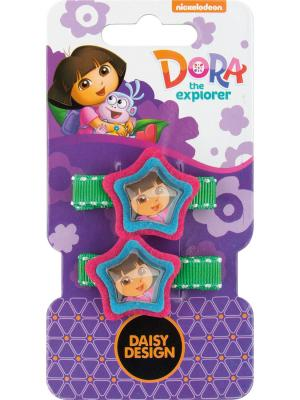 Набор заколок Звезда Доры Daisy Design. Цвет: фиолетовый