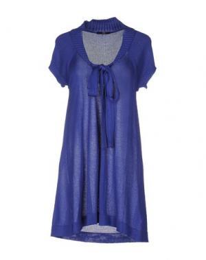 Короткое платье B.YU. Цвет: фиолетовый
