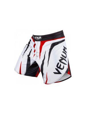 Шорты MMA Venum Sharp - White/Black/Red. Цвет: белый, черный, красный