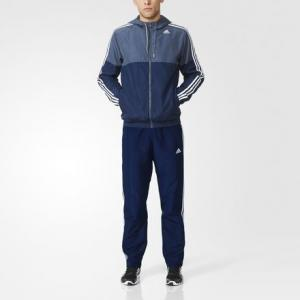 Спортивный костюм Trainer  Athletics adidas. Цвет: синий