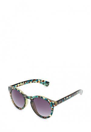 Очки солнцезащитные Pieces. Цвет: разноцветный