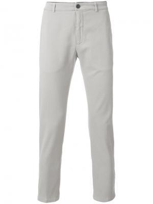 Классические брюки-чинос Department 5. Цвет: серый