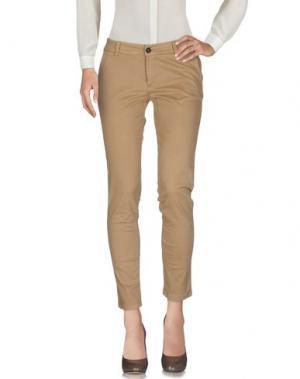 Повседневные брюки ANOTHER LABEL. Цвет: верблюжий
