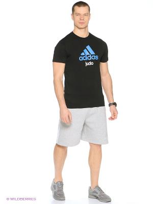 Шорты спортивные Training Short Boxing Club Adidas. Цвет: серый